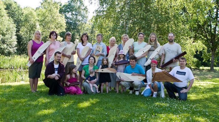 Kandlekursus 01-06.juuli 2010 ja sõbrad soomlased