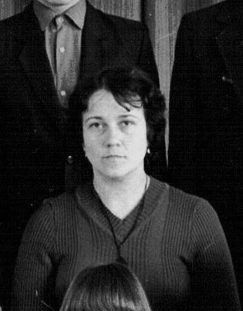 Kallis klassijuhataj - Natalia Konoplitšh 49.Keskool. 1985. aasta.